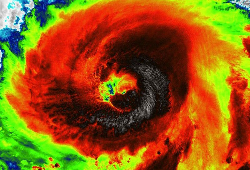 Haishen satellite image