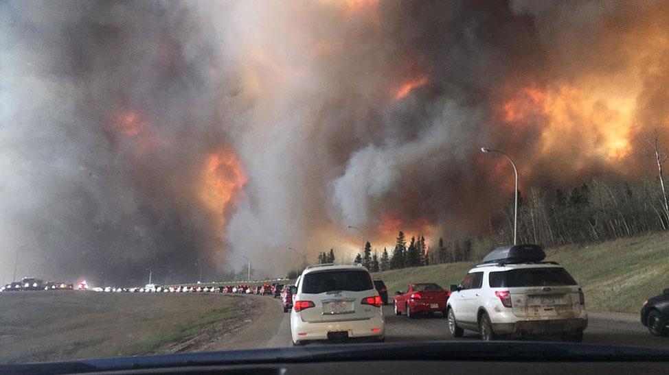 Wildfire evacuation
