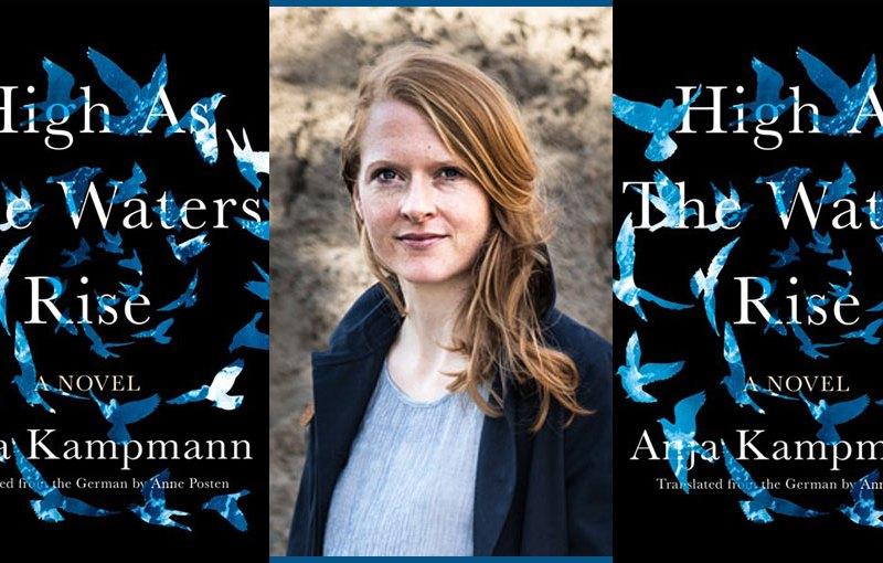 Anja Kampmann and book cover