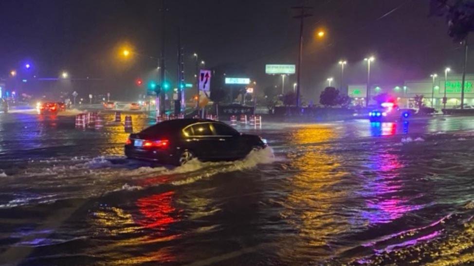 Flooding from Eta