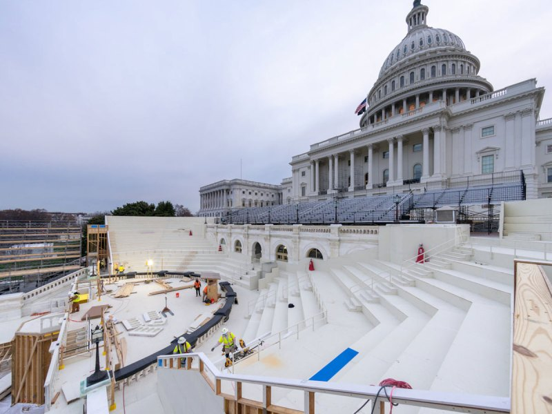 Inauguration preparation