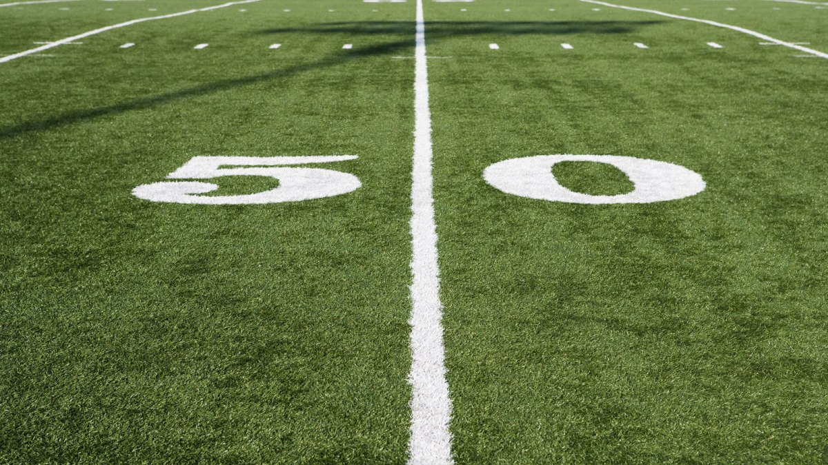 Fifty-yard line
