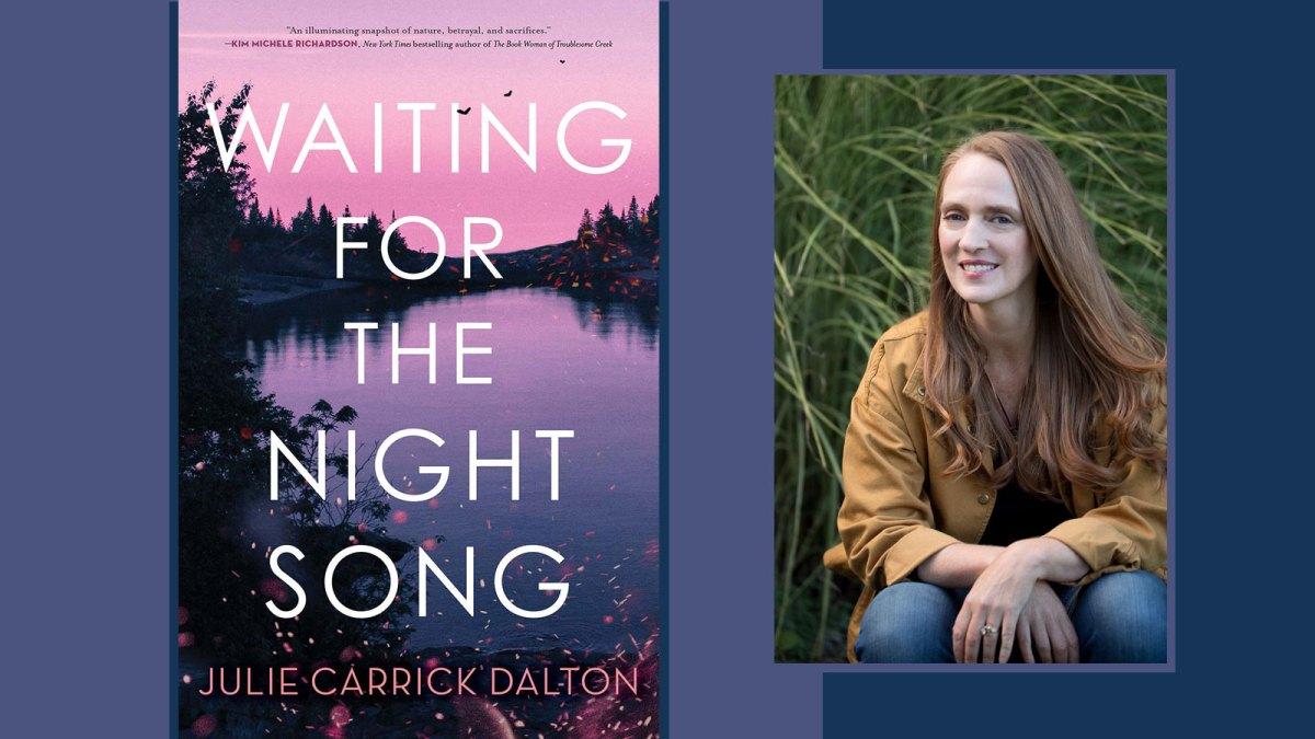 Dalton and book cover