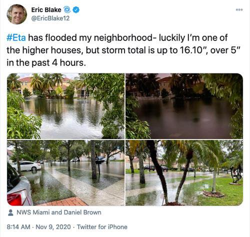 Eric Blake tweet