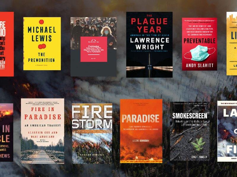 July bookshelf book covers
