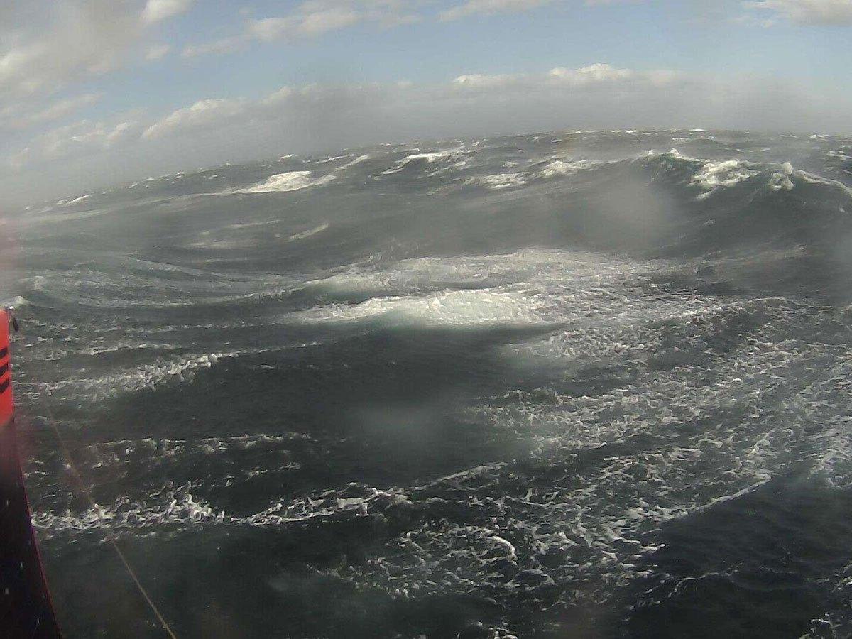 Drone 'selfie' in Southern Ocean