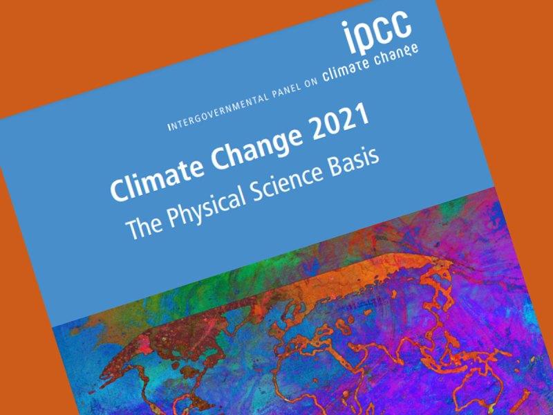 IPCC report cover