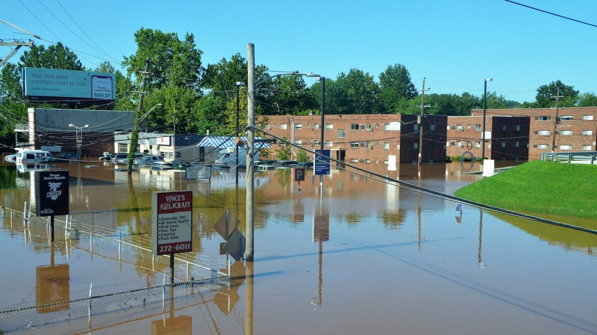 Flooding in Norristown PA