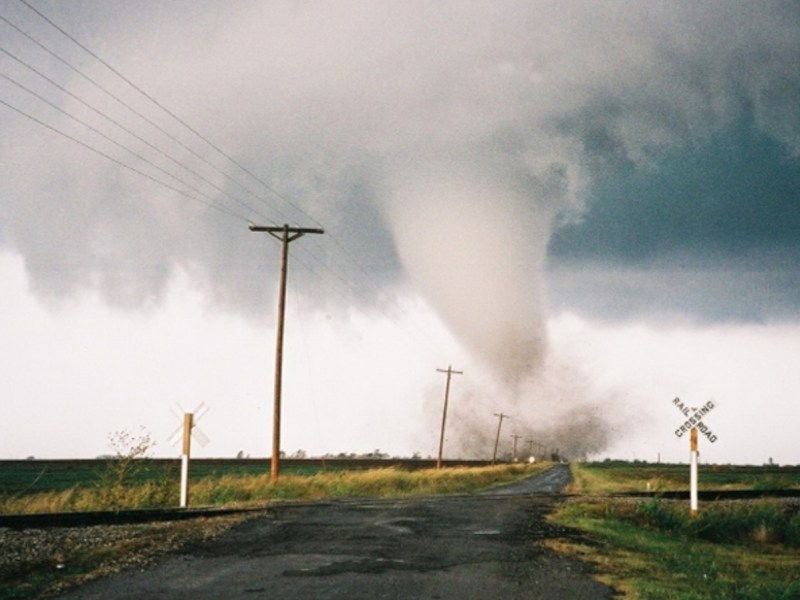 Oklahoma tornado on Oct. 9, 2011