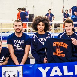 First Ever Competition for Yale Club Gymnastics – Orange Invitational In Syracuse