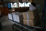 This is literally the year's stock of vaccines for Tuvalu courtesy of UNICEF.