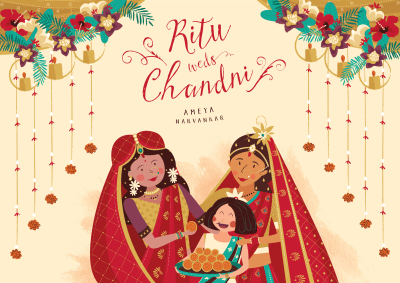 Ritu weds Chandni_Cover