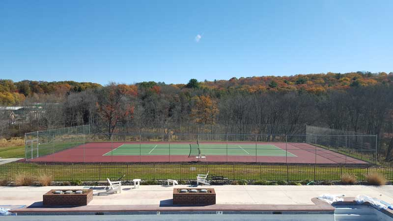 Tennis at Yalick Farms