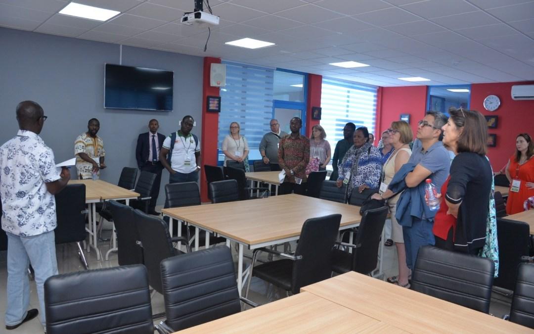 Accra RLC Hosts MasterCard Foundation Scholars