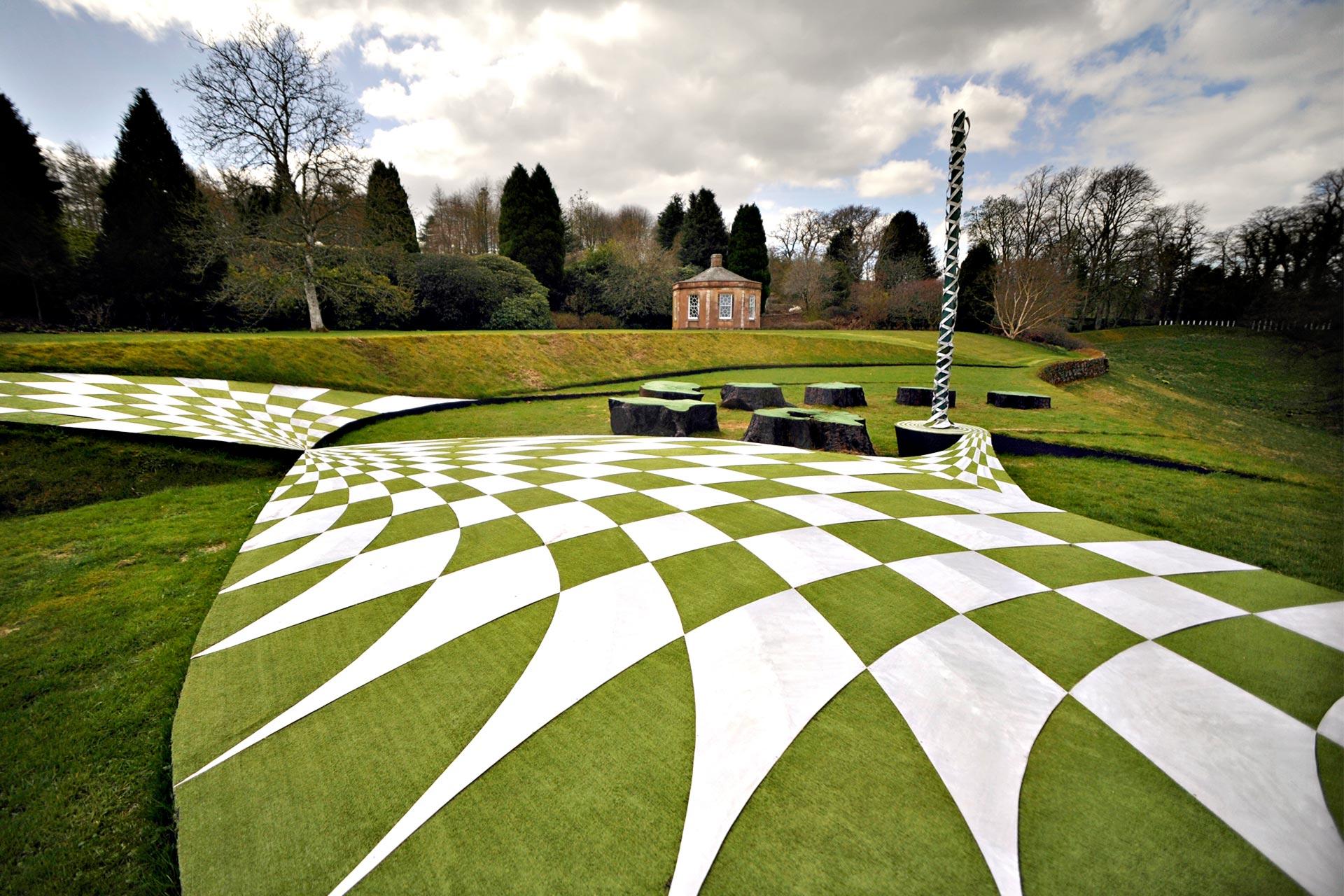 نتيجة بحث الصور عن حديقة التكهنات الكونية، دومفريز، اسكتلندا:
