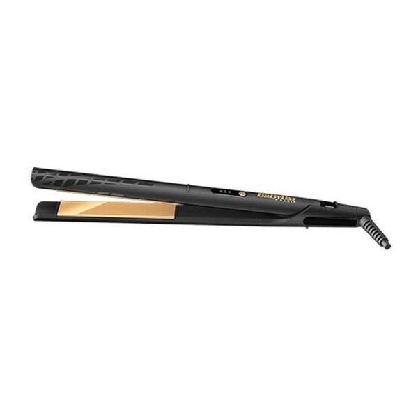 BaByliss Hair Straightener - Gold Ceramic - www.yallagoom.com.qa