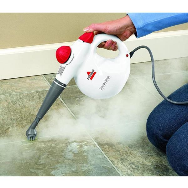 BISSELL 2635E Steam Shot Handheld Steam Cleaner - www.yallagoom.com.qa