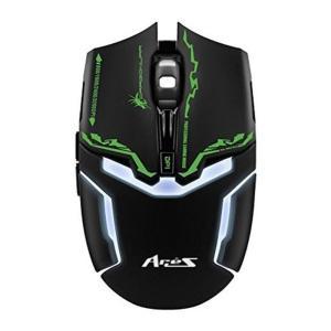 Dragon War -Gaming Mouse Ares 3200 DPI -G10Bk : www.yallagoom.com.qa