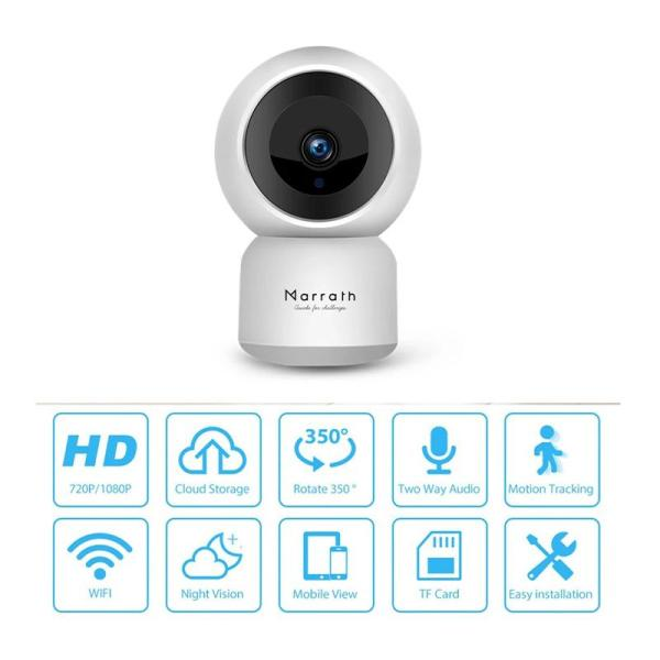 Marrath Smart WiFi 1080P Full HD Video Auto Tracking Camera - www.yallagoom.com.qa
