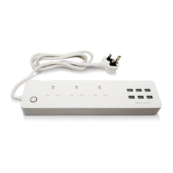 Marrath Smart WiFi Multi Plug - www.yallagoom.com.qa