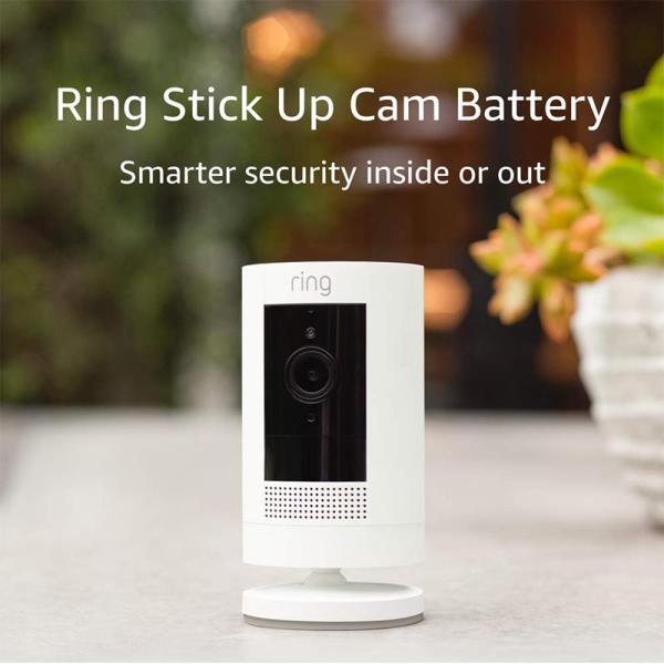Ring Stick Up Cam Battery HD Security Camera - www.yallagoom.com.qa
