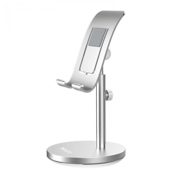 Yesido Adjustable Desktop Holder - Silver-Yallagoom.com.qa