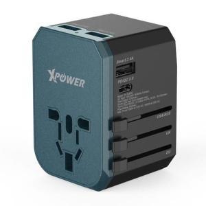 Xpower TA4PD 42W PD & QC3.0 Travel Adapter-Yallagoom.com.qa