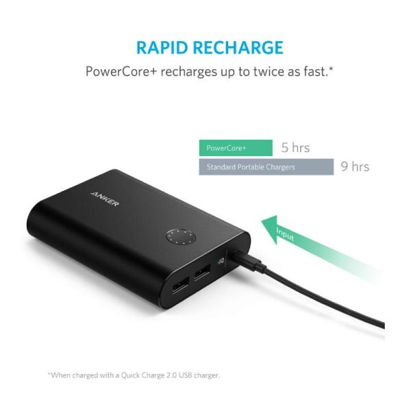 Anker PowerCore+ 13400mAh Portable Charger with Quick Charge 3.0 -Yallagoom.com.qa