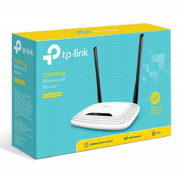 TP-Link TL-WR841N 300Mbps Wireless N Cable, 4 Fast LAN Ports-yallagoom.com.qa