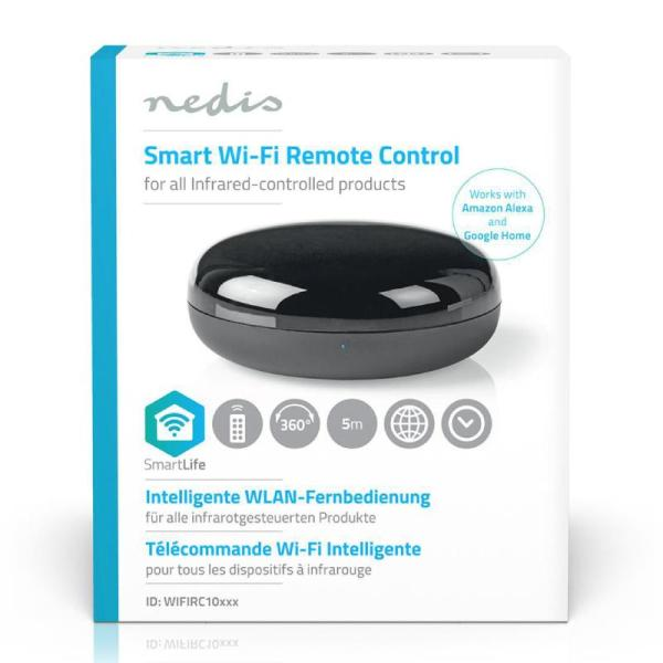 Nedis WiFi Smart Universal Remote Control | Infra red-yallagoom.com.qa