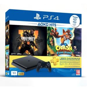 PS4 SLIM ARABIC 1TB COD4+CRASH-yallagoom.com.qa