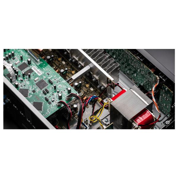 Denon AVR-X550BT 5.2 Ch. AV Receiver with Bluetooth-yallagoom.com.qa