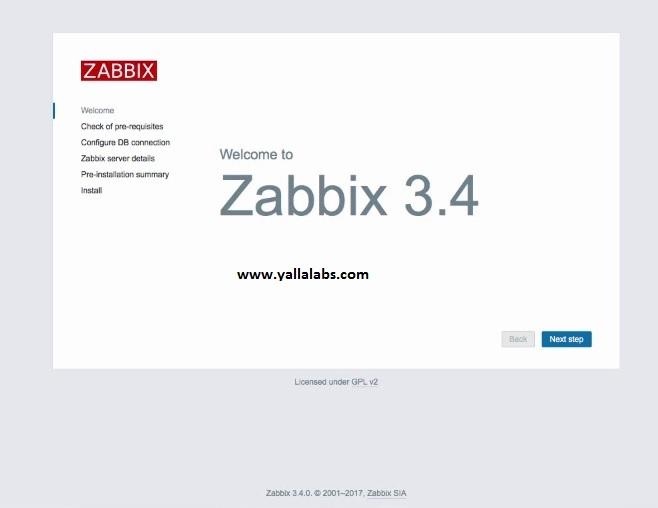 HOW TO INSTALL ZABBIX 3 4 SERVER ON CENTOS 7 / RHEL 7   Cong