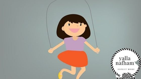 تمارين قفز الحبل يوميا تزيد الطول بسرعه .