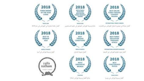 جائزة افضل وسيط فوركس في اسيا
