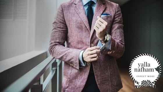 فن اختيار البليزر لملابس الرجال .
