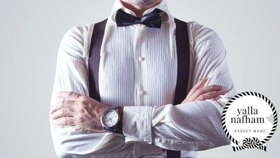 فن اختيار القميص مهم لملابس الرجال .