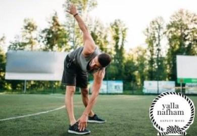 تمرين المروحة لتقوية عضلات الظهر