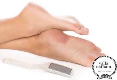 طرق ازالة الجلد الميت من القدم