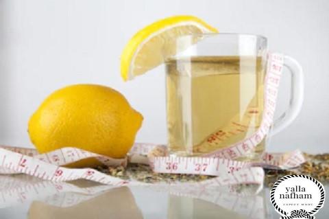 فوائد الشاي الأخضر بالليمون والعسل
