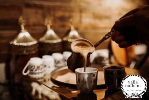 طريقة عمل القهوة العربى