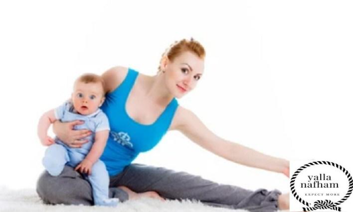 متى اسوي رياضة بعد الولادة الطبيعية