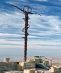 the Serpantine Cross at Mt. Nebo, Jordan
