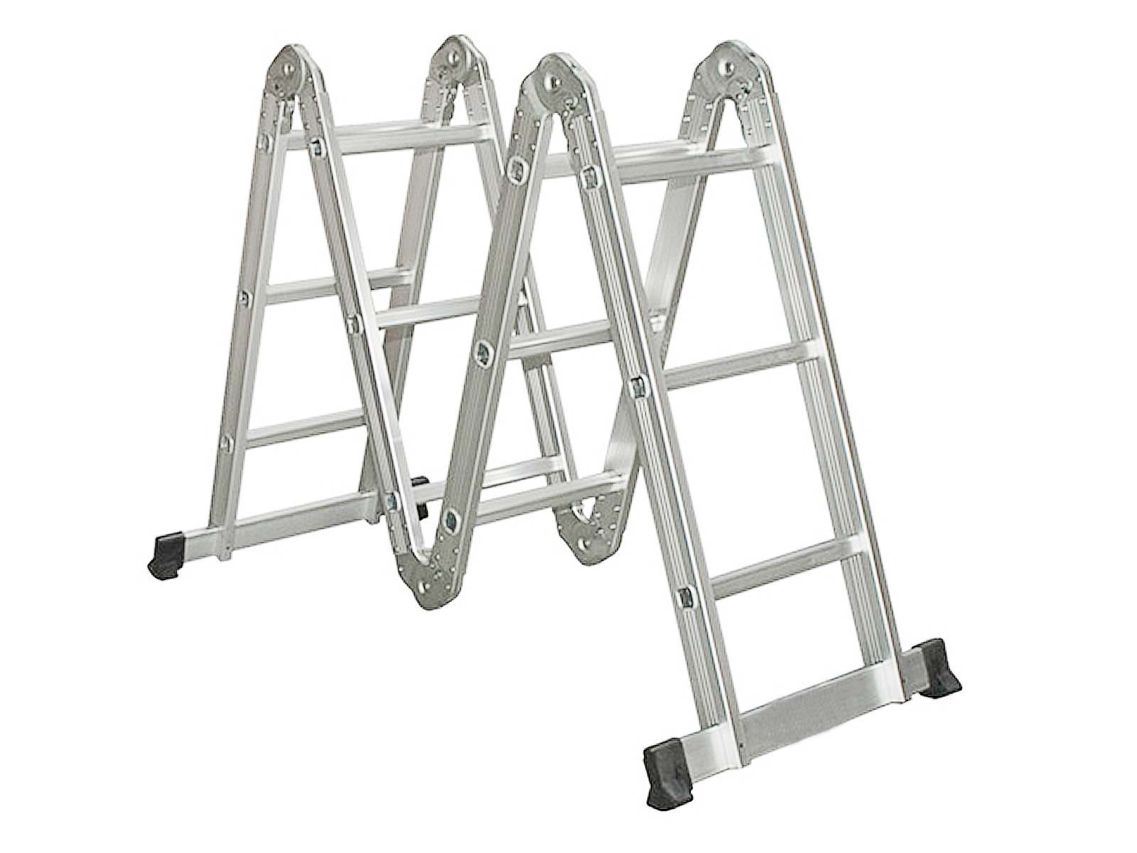 10 5 16 5ft Simple Aluminium Foldable Extension Ladder