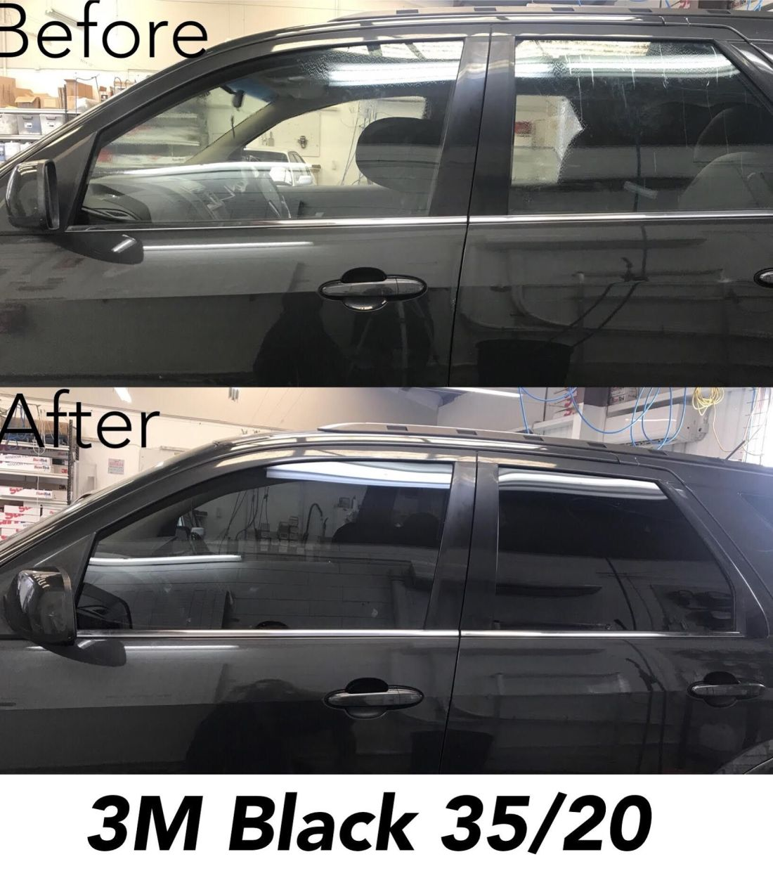how much does it cost to tint car windows ireland