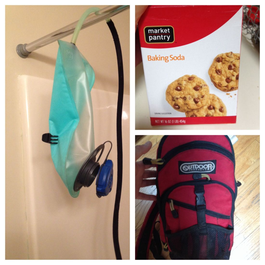 How to clean your camelbak water reservoir 2 tbs of
