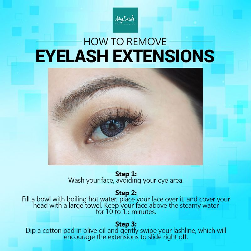 How to remove eyelash extensions without damaging your