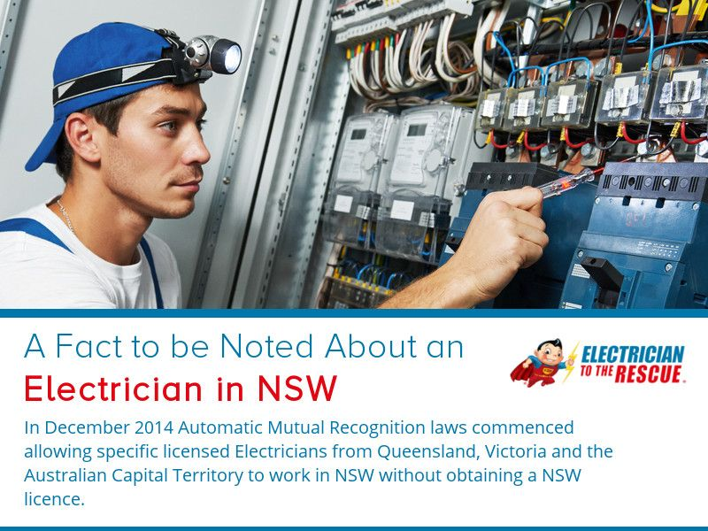 how to be an electrician in australia