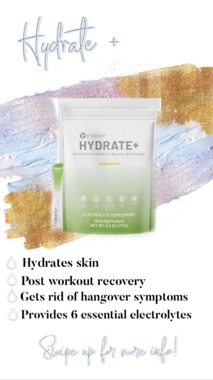 Hydrated skinny post workout recovery get rid of