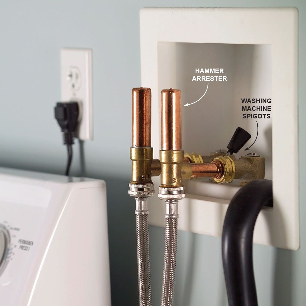 how to fix water hammer in toilet